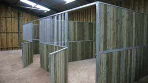 Finished Stables